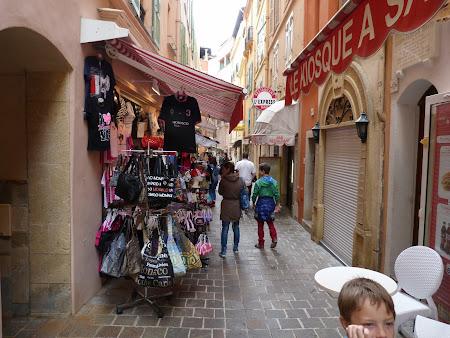 Obiective turistice Monaco stradutele din Monte Carlo