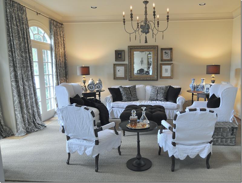 Cote De Texas Webb Design Family Room Breakfast Room