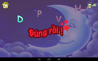 Screenshot of Be Hoc Chu - Bé Học Chữ