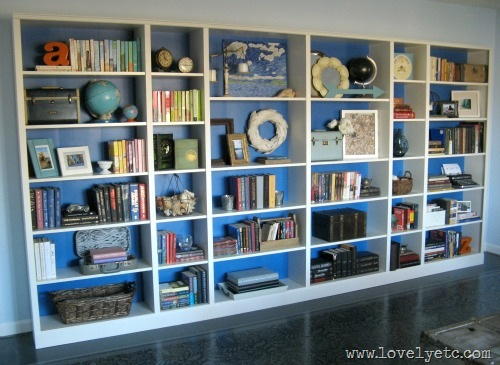 styled bookshelves - Styling Bookcases