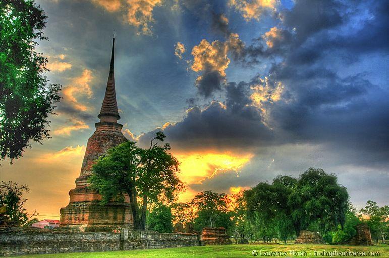 Sunset Ayuttaya