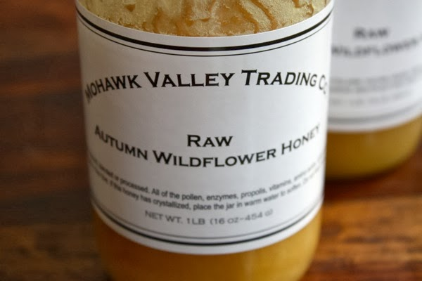 raw autumn honey