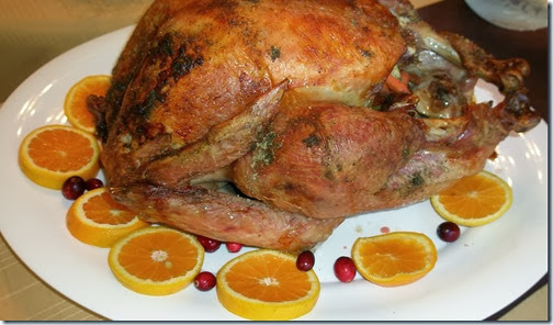 Delicious Thankgiving Turkey - free menu
