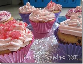 Roze Prinssessencakejes (5)