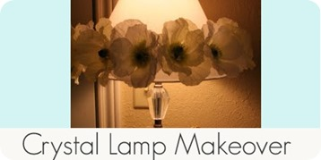 crystal lamp makeover