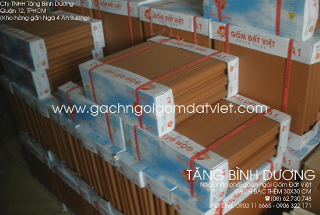 Gạch bậc thềm 30x30 cm Gốm Đất Việt