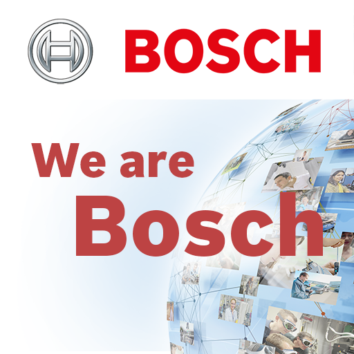"""ボッシュ・グループの行動指針 """"We are Bosch"""" 商業 App LOGO-硬是要APP"""