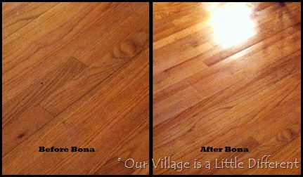 Our Village Is A Little Different The Bona Hardwood Floor