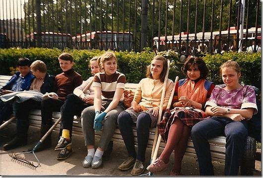 Ленинград 80-х глазами западных туристов | Жизнь в СССР Триумфальная Арка Фильм 1985