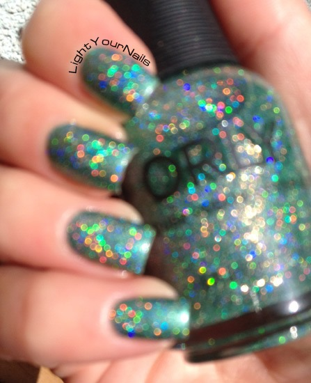 Orly Sparkling Garbage blurred