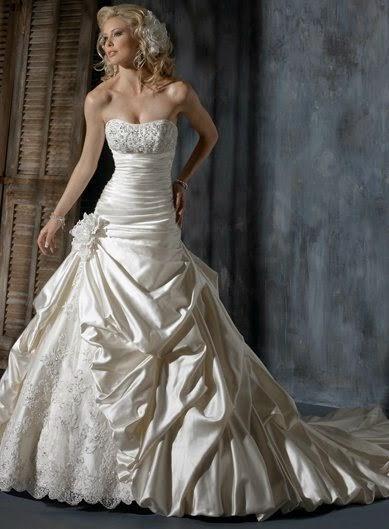 480a3aa4122b0 فساتين زفاف جميلة لارقى صبايا 2015 ، فساتين زفاف رقيقة