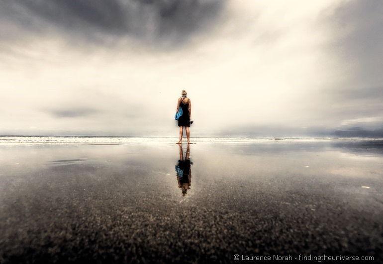 Vera-reflected-on-beach-montanita-PP