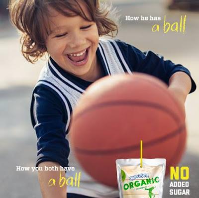 Capri Sun Organic is sure to spread smiles all around