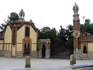 Güell Pavilions, Barcelona