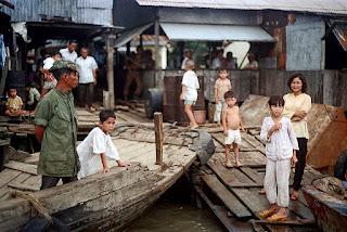 Bến đò Cây Bàng ở Thủ Thiêm xưa.
