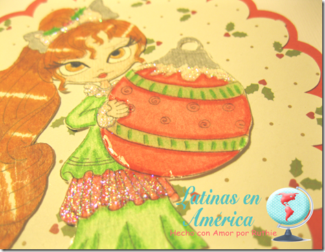 Lucy Sunshine Digital stamps - Isabella Christmas Ornament digi - Latinas en America - Ruthie Lopez - My Hobby = My Art 5