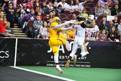 LAKISSFOOTBALL finished 1st in the Arena Football League in red zone defense