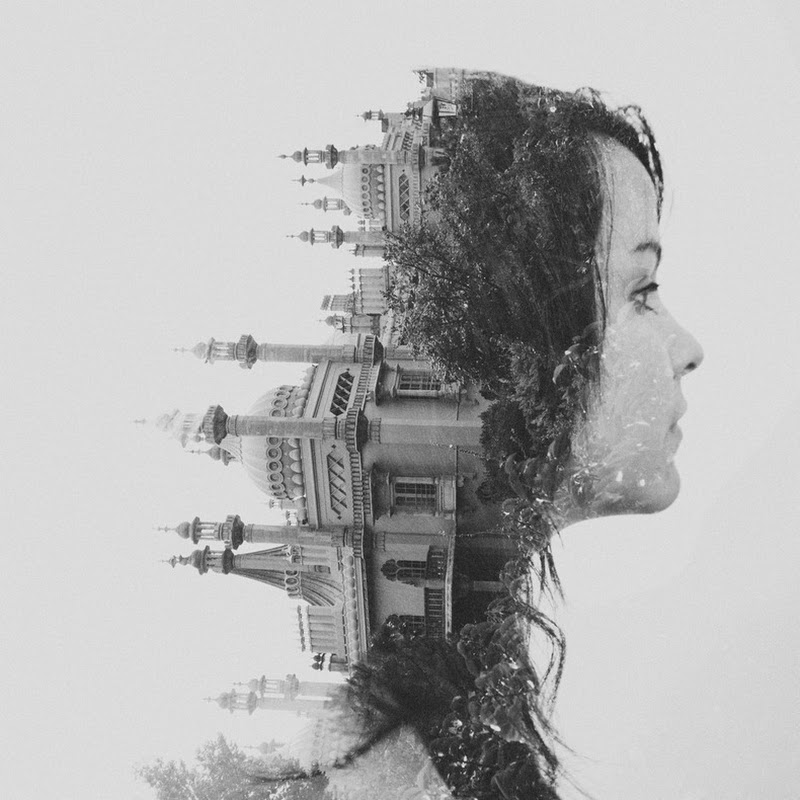 Creative Double Exposure Photos by Dan Mountford