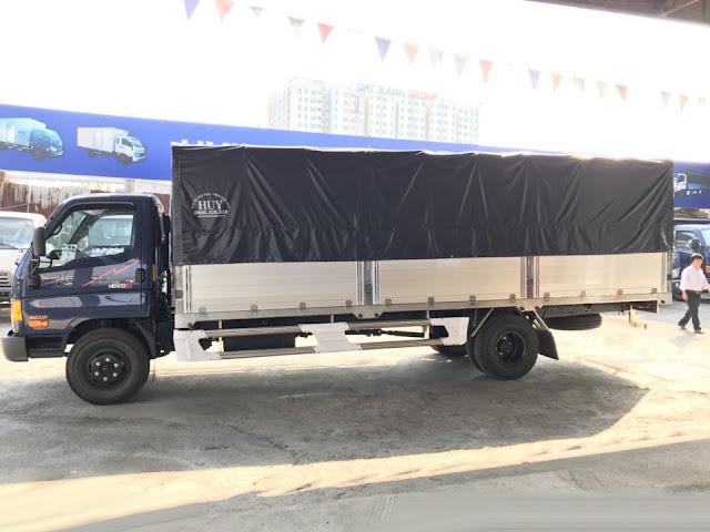 Xe đô thành HD120sl 8 tấn thùng bạt
