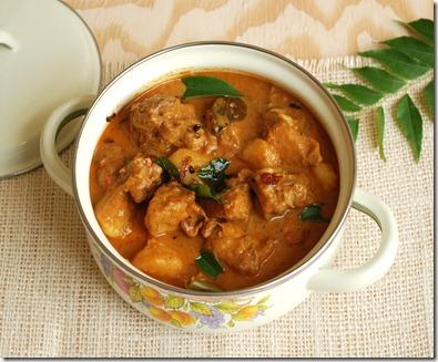 Trissur Style Chicken Curry
