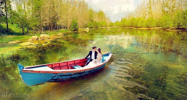 Chụp ảnh cưới là phải xinh lung linh :P