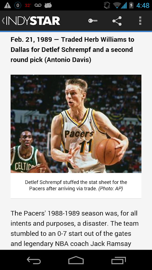 IndyStar - screenshot