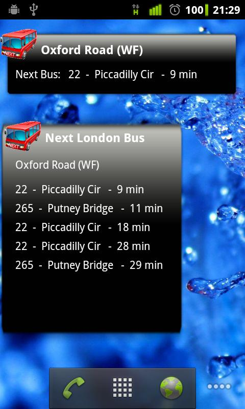 Next London Bus Live - screenshot