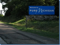 3619 Michigan I-69 North - border Welcome sign
