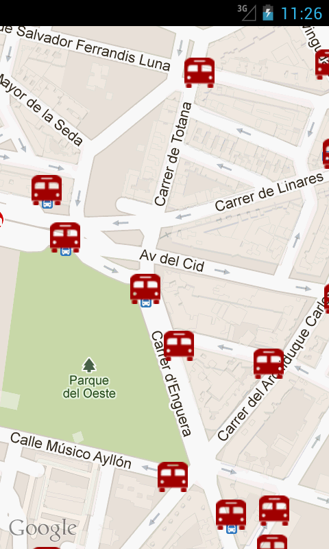 ValenBus (Bus en Valencia) - screenshot