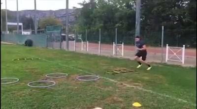 Bit of skills footwork speed training over the weekend