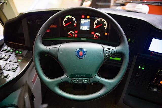 Vô lăng xe Scania 45 chỗ A50