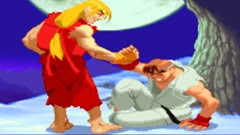 Street Fighter Alpha 2, Finais, Ken
