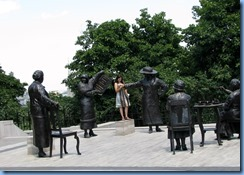 6229 Ottawa - Parliament Buildings grounds - Women Are Persons! statue