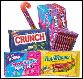 Nestle and Wonka Treats