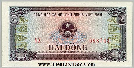 2 Đồng Việt Nam 1980