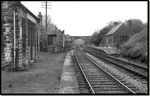 The railway at Red Rock, 1952