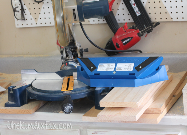 Setting up kreg jig for mitering crown