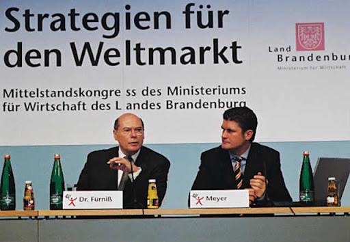 Dr. Wolfgang Fürniß - Wirtschaftsminister von Brandenburg
