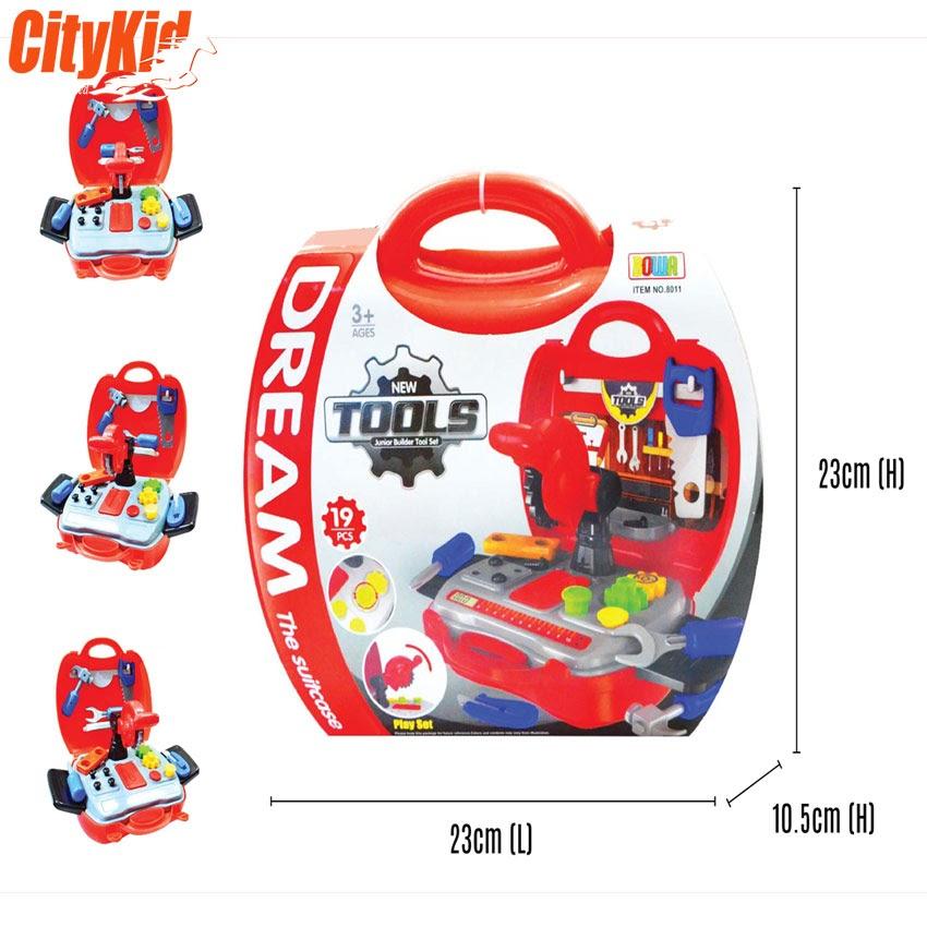 bộ đồ chơi dụng cụ sửa chữa 19 món