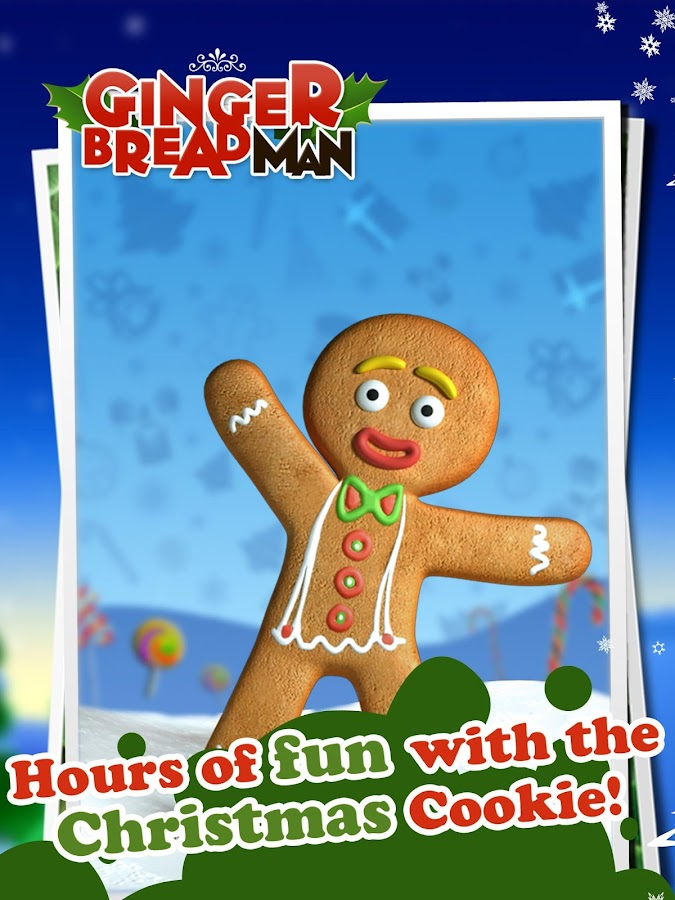 Talking Gingerbread Man Free- screenshot