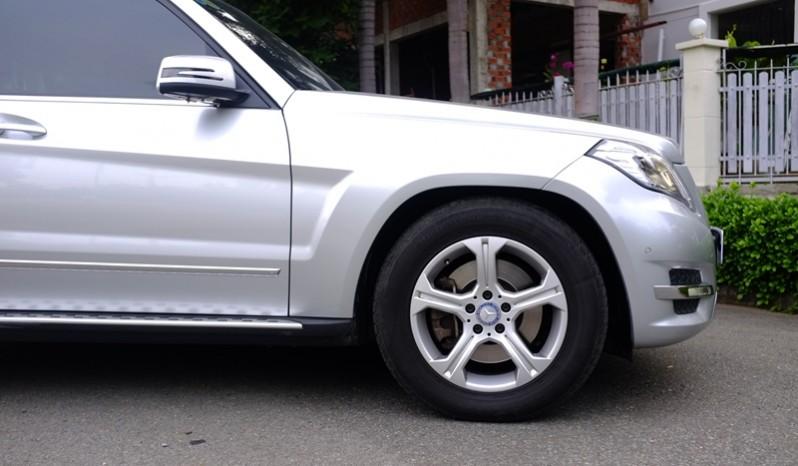 xe Mercedes Benz GLK 220 cũ máy dầu 2014 màu bạc 06