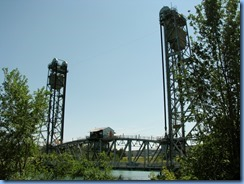 7803 Welland Canals Parkway -  St. Catharines - looking back at Glendale Lift Bridge
