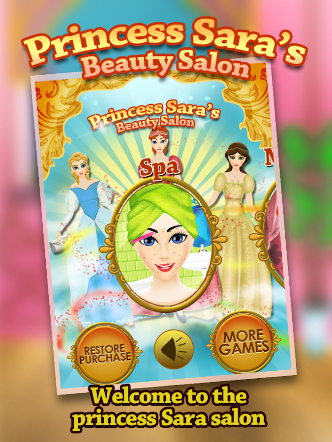 Princess Sara Beauty Spa Salon - screenshot