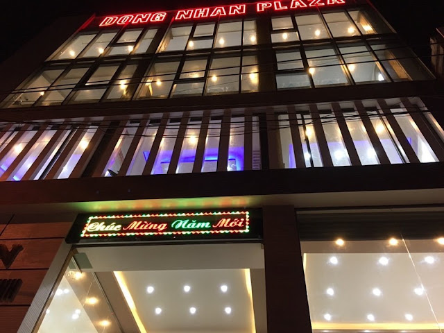 Góc nhìn công trình DONG NHAN PLAZA về đêm