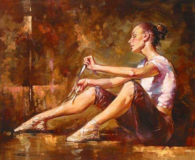 Andrew Atroshenko: Expresionismo y la mujer como protagonista – Trianarts