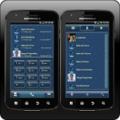 exDialer Denim Theme
