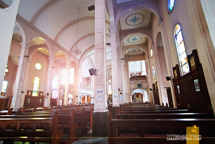 The Spacious Interiors of Baguio Cathedral