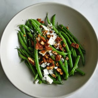 Green Beans Vinaigrette with Blue Cheese Recipe