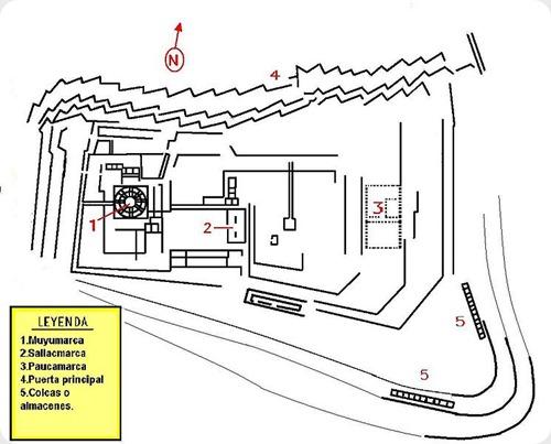 Sacsayhuman-map