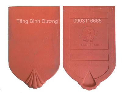 Ngói mũi sò Gốm Đất Việt